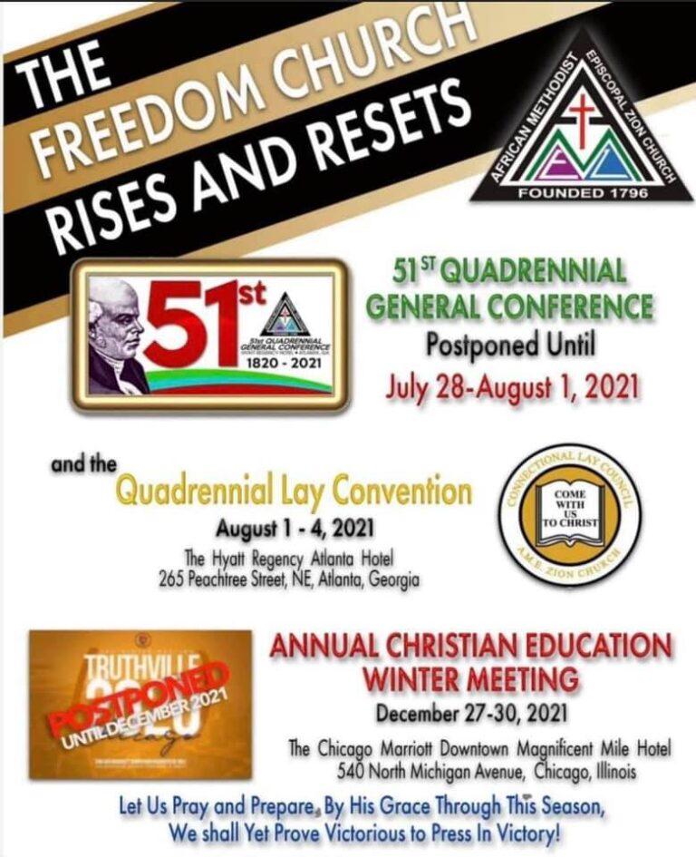 51st Quadrennial General Conference Flyer